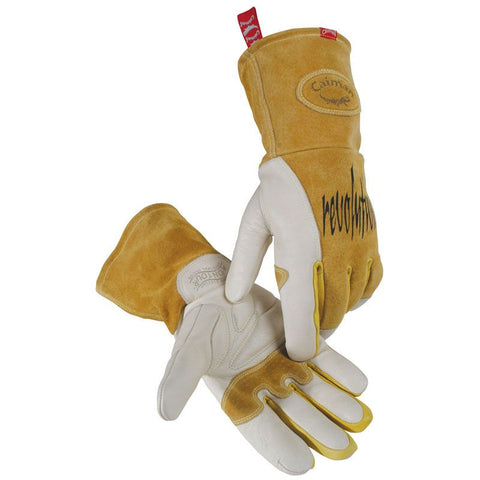 MIG / Stick Cow Grain Welding Gloves 1810 - Caiman