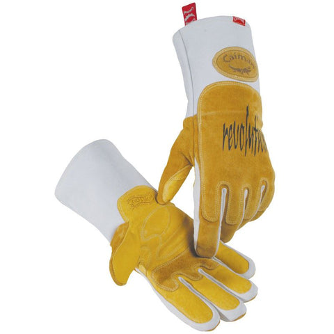 MIG / Stick, Pig Grain Welding Gloves - 1812 - Caiman
