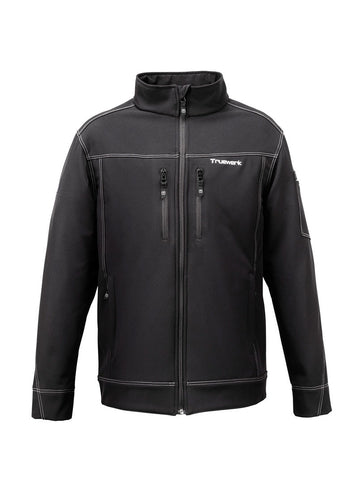 Truewerk Black Double-Stitch Jacket