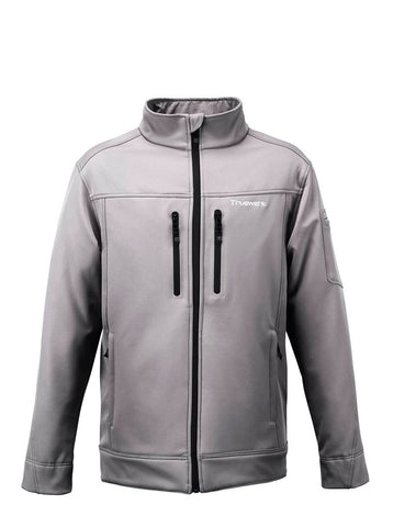 Truewerk Light Gray Double-Stitch Jacket