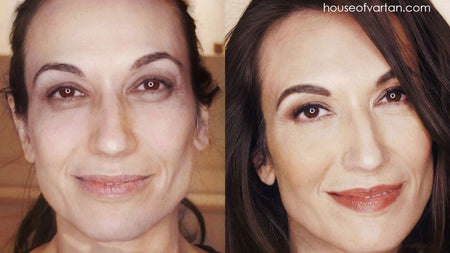 Radiant Makeup How-To: Full Face Day Look w/ Mature Skin Foundation Tips & Tricks for Aging Eyes