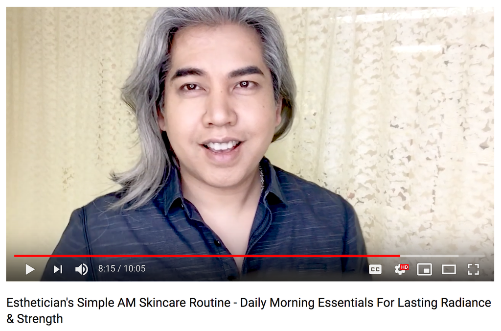 Esthetician's Simple AM Skincare Routine