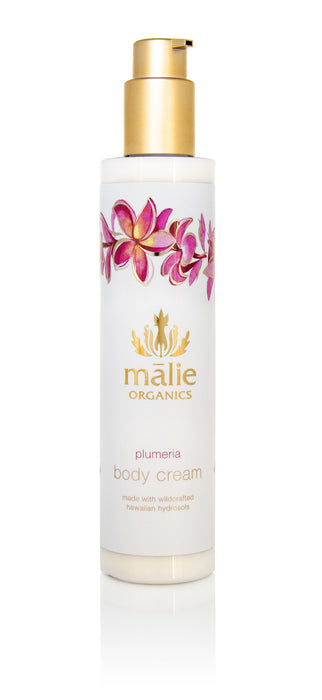 Organic Body Cream - Plumeria