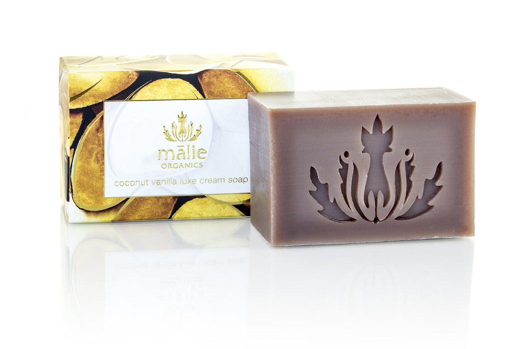Organic Luxe Cream Soap - Coconut Vanilla - House of Vartan