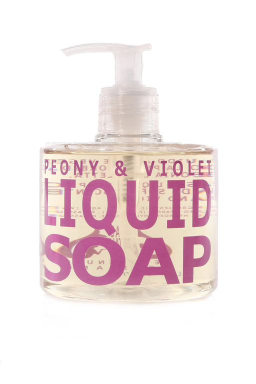 PEONY & VIOLET - Liquid Soap - House of Vartan