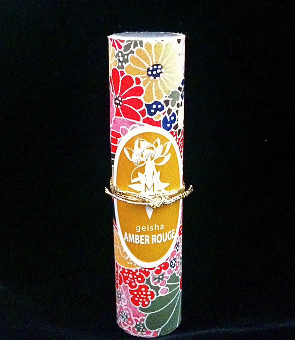 GEISHA AMBER ROUGE roll-on perfume oil - House of Vartan