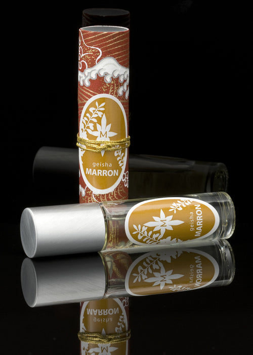 GEISHA MARRON roll-on perfume oil - House of Vartan