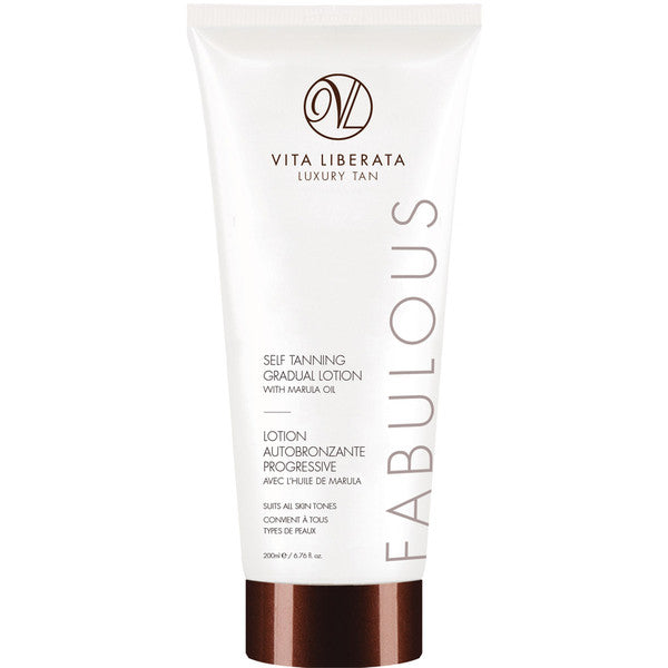 Fabulous Self Tanning Gradual Lotion with Marula Oil