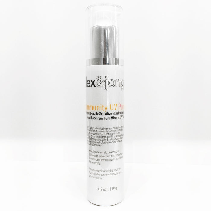 IMMUNITY UV PURE Medical-Grade Sensitive Skin Protection Broad Spectrum Mineral SPF 45 - House of Vartan