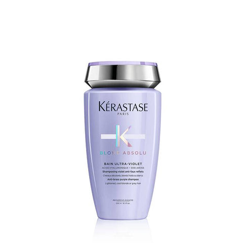 Blond Absolu Bain Ultra-Violet  / Anti-brass, blond, platinum, & silver-perfecting purple shampoo