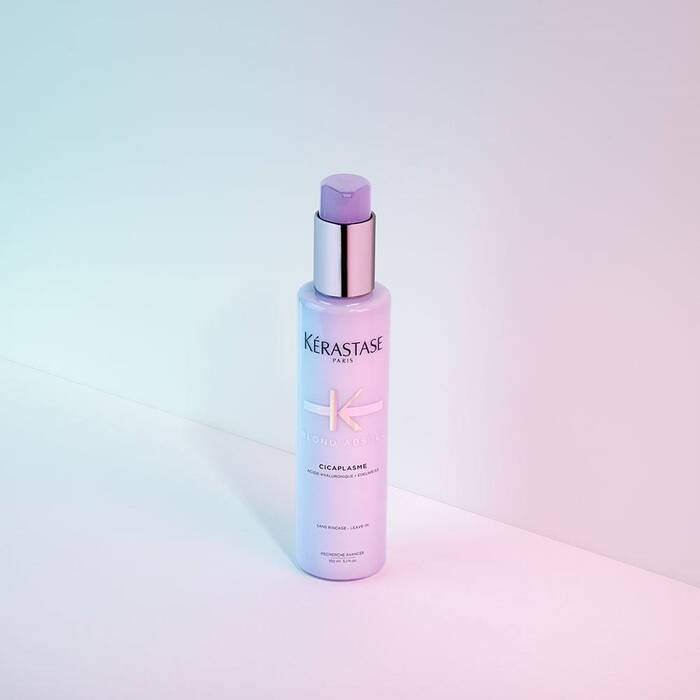Blond Absolu Cicaplasme / Heat-protecting hair primer for all blonde, platinum & silver hair types - House of Vartan