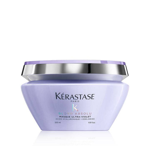 Blond Absolu Masque Ultra-Violet / Anti-brass, blond, platinum, & silver-perfecting purple hair mask - House of Vartan