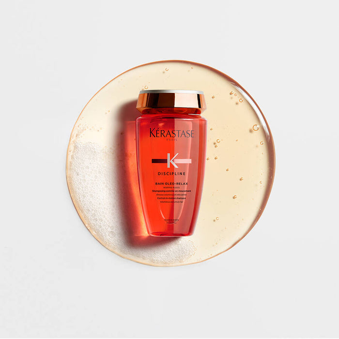 Discipline  Bain Oléo-Relax Shampoo / For anti-frizz and smoothing control-in-motion - House of Vartan