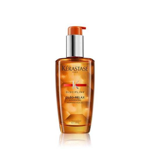 Discipline Oléo-Relax Advanced Hair Oil / For anti-frizz and smoothing control-in-motion - House of Vartan