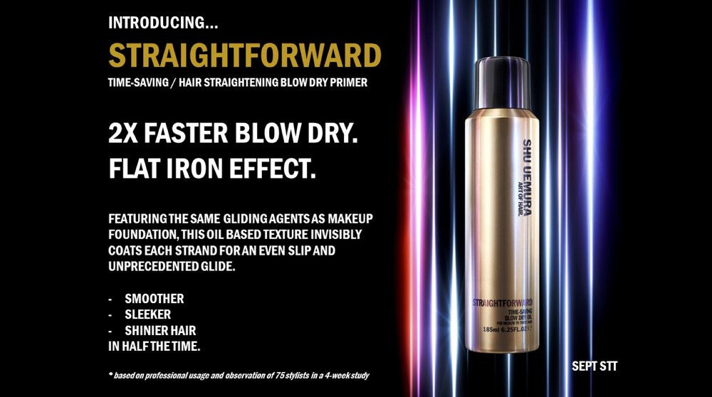 Straight Forward - Time-Saving Blow Dry Oil Spray