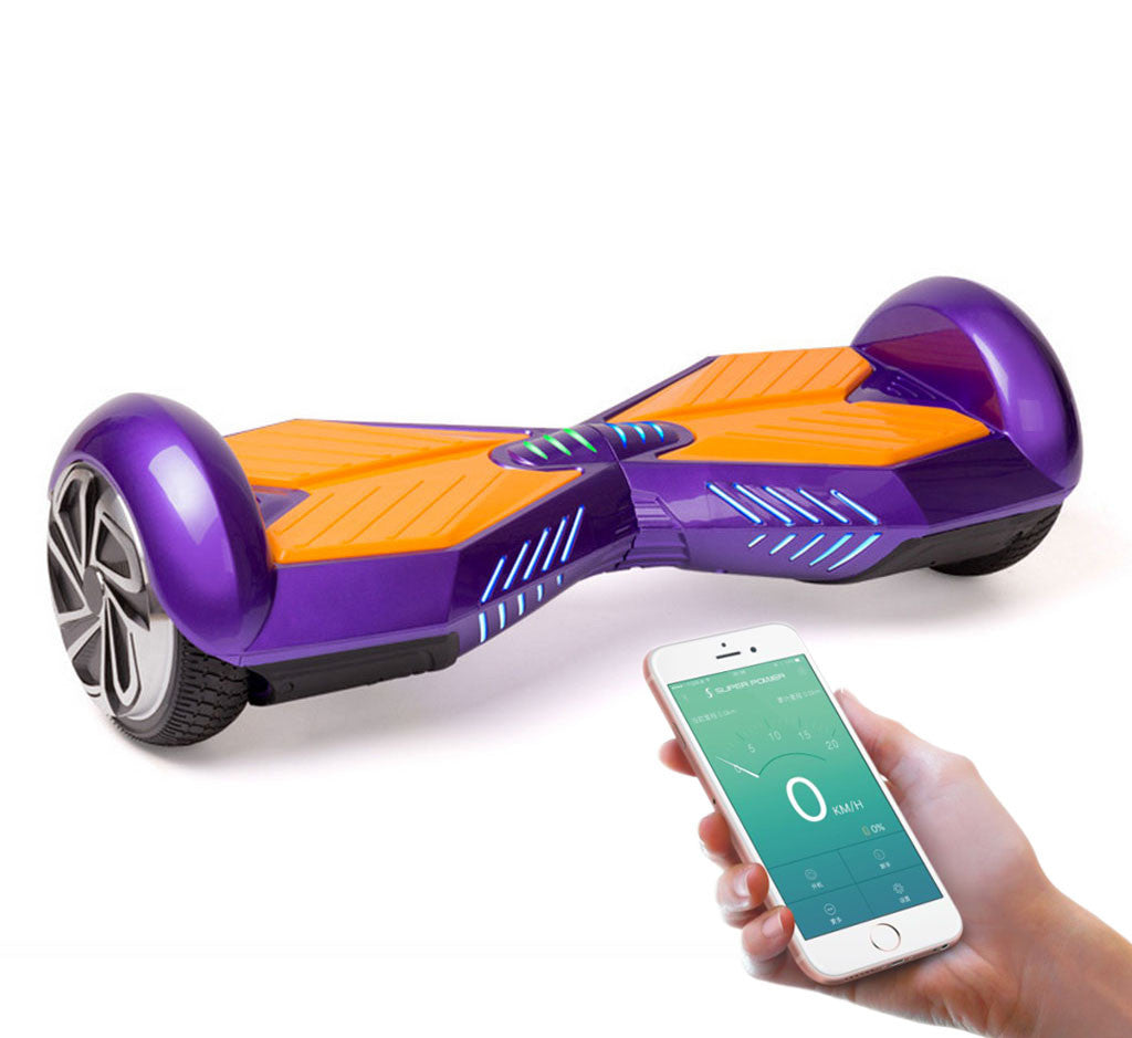 """Water Hoverboard For Sale >> 8"""" Lamborghini Hoverboard With Bluetooth, Lights and Remote Control - Smart Balance Wheel"""