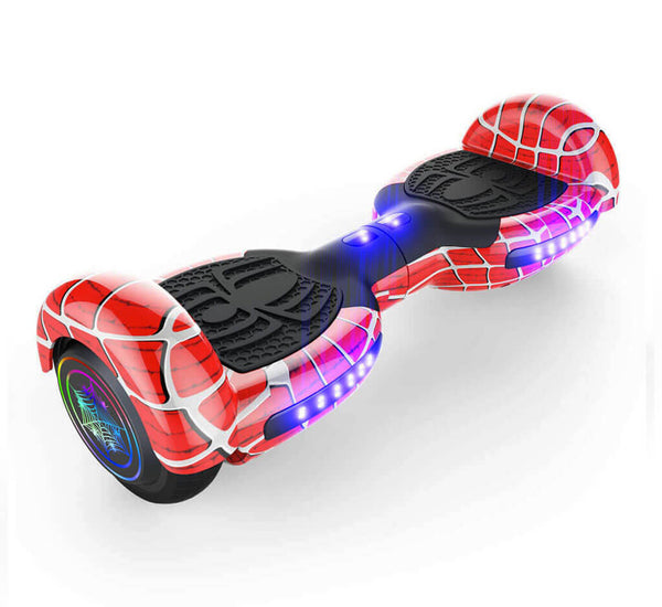 red spider hoverboard with bluetooth speaker and ul2272. Black Bedroom Furniture Sets. Home Design Ideas