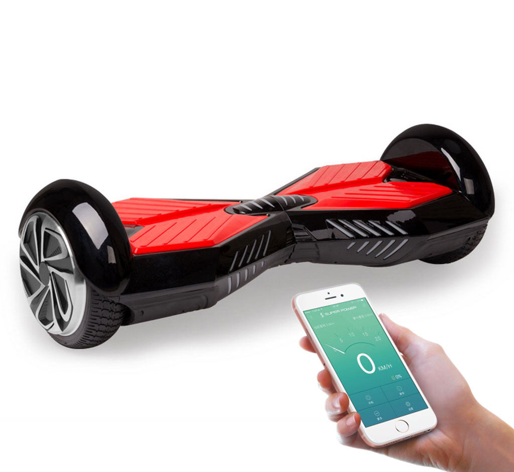 Water Hoverboard For Sale >> Chrome Color 8 Inch Hoverboard With Bluetooth Speaker - Smart Balance Wheel