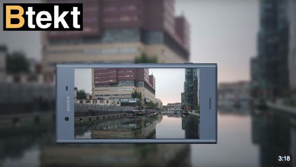 BTEKT - Sony Xperia XZ1 Compact 4K video sample