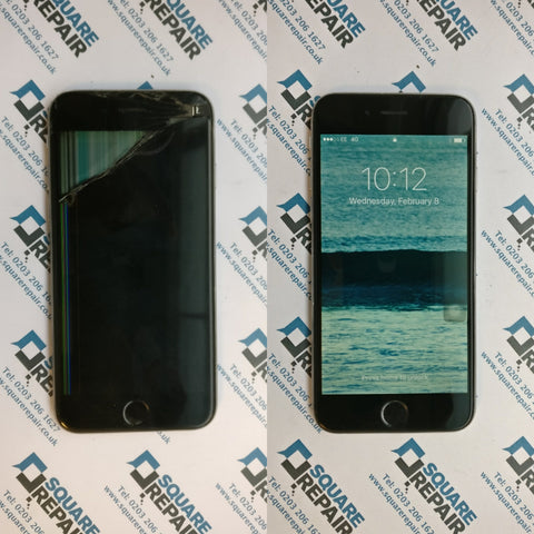 iPhone 6s broken screen repair service london