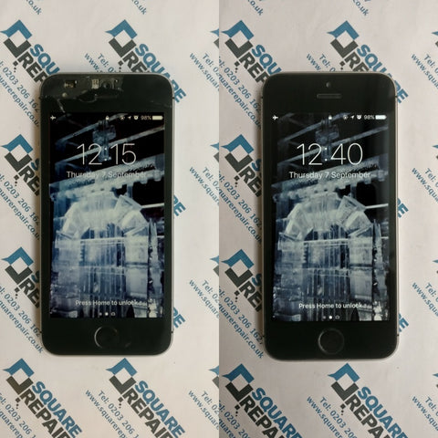 iPhone SE broken screen repair service london