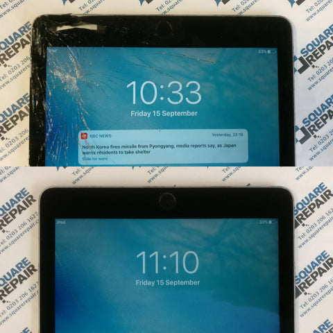iPad air 2 screen replacement, london, liverpool street