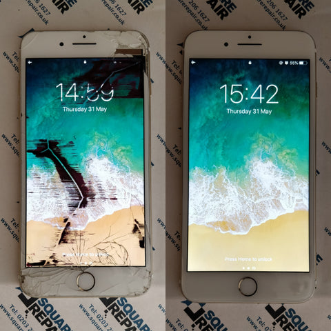 iPhone 6s Smashed LCD Repair Service London