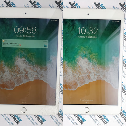 iPad mini 3 cracked Screen Repair