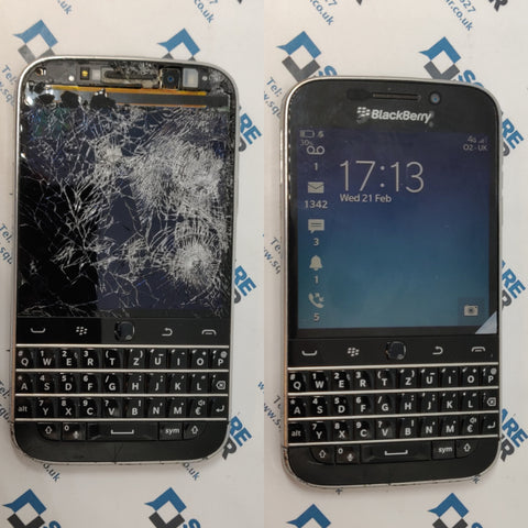 Blackberry Q20 screen replacement london