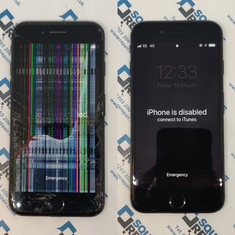 iPhone Screen Replacement Serviece London - iPhone Disabled