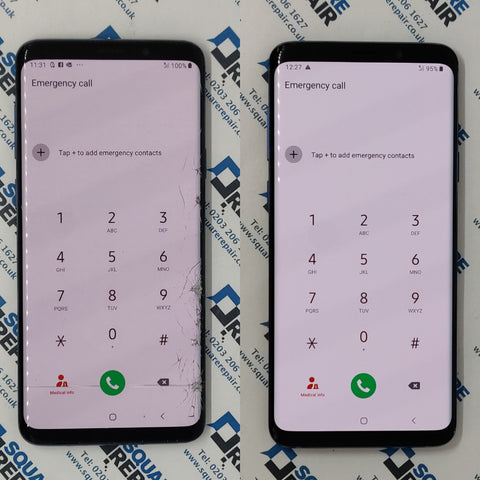 Samsung Galaxy S9+ Glass Screen Repair Service London