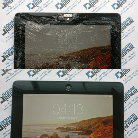ipad 2 screen and home button repair london