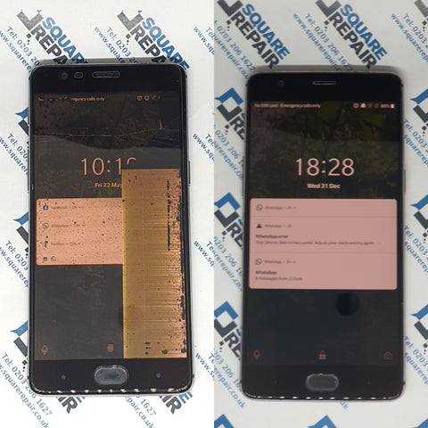 oneplus 3t broken screen repair service