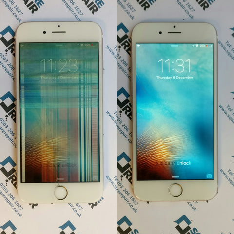 huge discount 3a8d8 207cf Rose Gold iPhone 6s Smashed Screen Repair in Liverpool Street, London