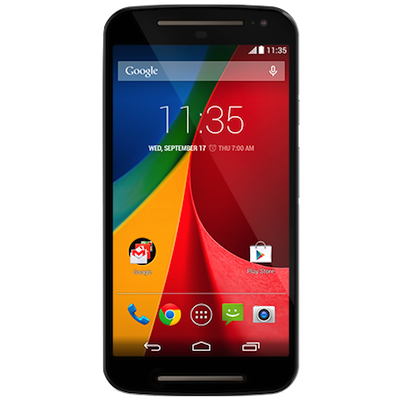 Moto G2 Screen (Glass and LCD) Screen Repair Service Centre London - Black
