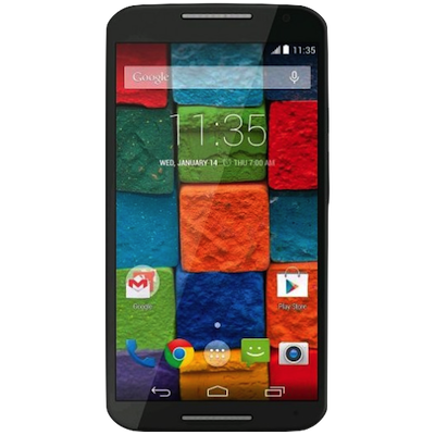 Moto X (2nd Gen) Screen (Glass and LCD) Repair Service Centre London - Black