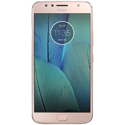 Moto G5S Plus Screen (Glass and LCD) Repair Service Centre London - Rose Gold