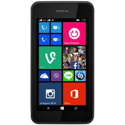 Nokia Lumia 530 Broken Glass and LCD Screen Repair