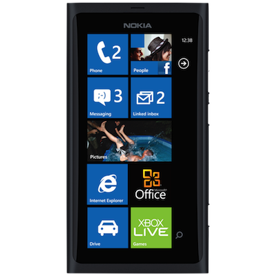 Nokia Lumia 800 Broken Glass & LCD Screen Repair