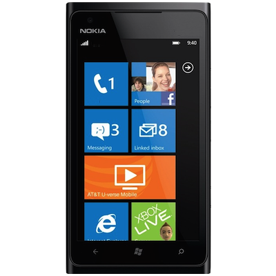 Nokia Lumia 900 Broken Glass & LCD Screen Repair Service Centre london