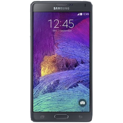 Samsung Galaxy Note 4 Screen Repair Service Centre London - Black