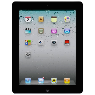 iPad 2 Broken Glass Screen Repair