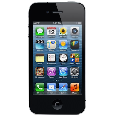iPhone 4 Screen (Glass & LCD) Repair Service Centre London - Black