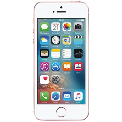 iPhone SE Screen (Glass & LCD) repair service centre london - Rose Gold
