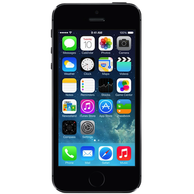 iPhone 5s Broken Screen Repair Service Centre London - Space Grey