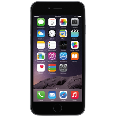 Fast iPhone 6 Screen (Glass & LCD) Repair Service Centre London - Space Grey