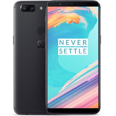 Black - Oneplus 5T Back Cover Replacement