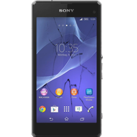 Sony Xperia Z1 Compact broken glass screen repair
