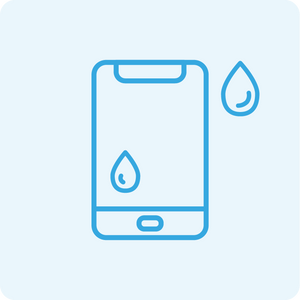 Smartphone and Tablet Water Damage Diagnosis Service