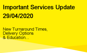 29/04/2020 - Services Update